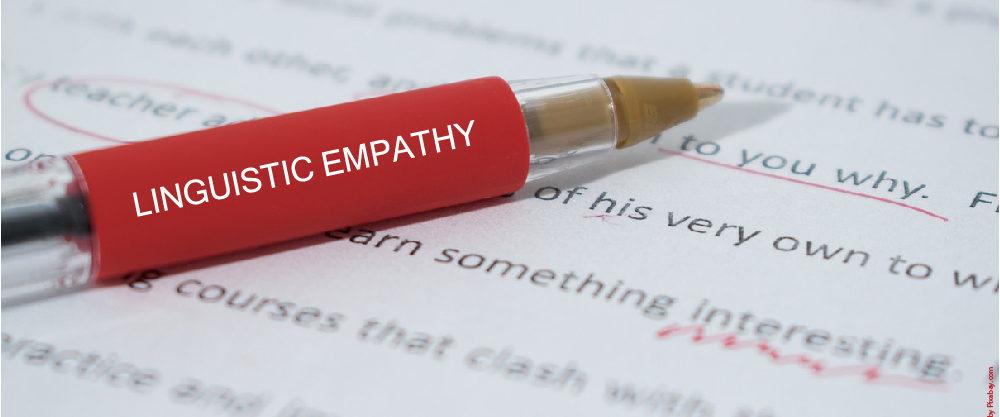 Linguistic empathy